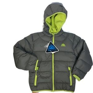 Snozu Boys NWT quilted winter coat size 6
